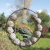 Image of Suet Balls shown in our Peanut Wreath Feeder (feeder not included)